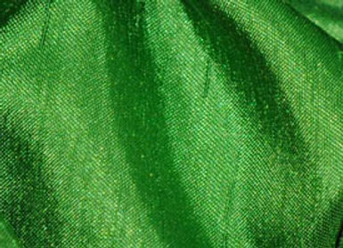 APPLE GREEN SHANTUNG SATIN