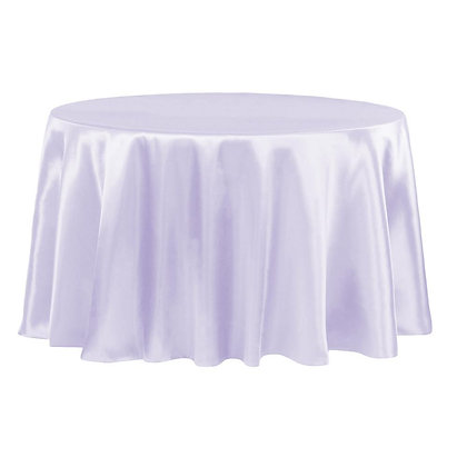 LAVENDER LAMOUR SATIN TABLECLOTHS