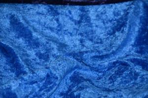 ROYAL BLUE PANNE VELVET