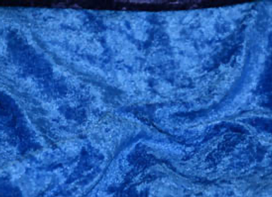 ROYAL BLUE PANNE VELVET