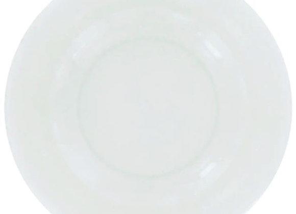 WHITE STONEWARE PLATES
