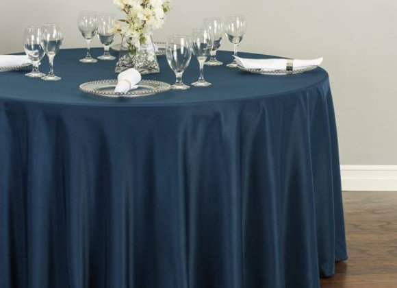 NAVY POLYESTER TABLECLOTHS