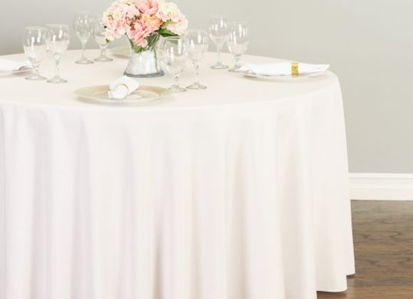 BLUSH POLYESTER TABLECLOTHS