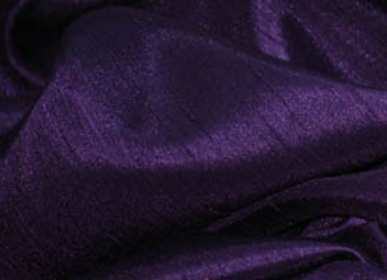 DARK PURPLE SHANTUNG SATIN