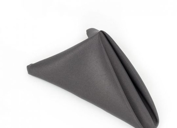 CHARCOAL POLYESTER NAPKIN