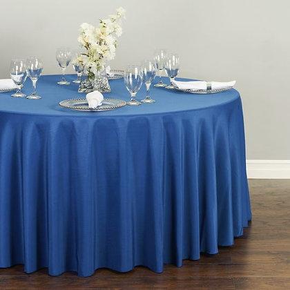 ROYAL BLUE POLYESTER TABLECLOTHS