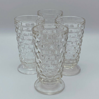 CLEAR VINTAGE TEA GLASS