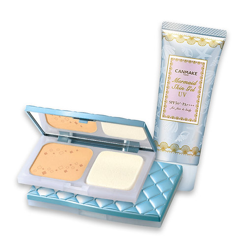 Mermaid Skin Gel UV & UV Silky Fit Foundation