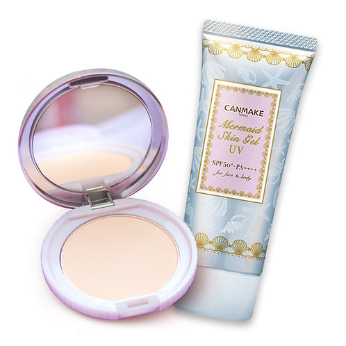 Mermaid Skin Gel UV & Transparent Finish Powder