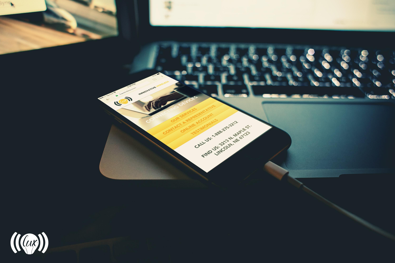 Lux Mobile Website