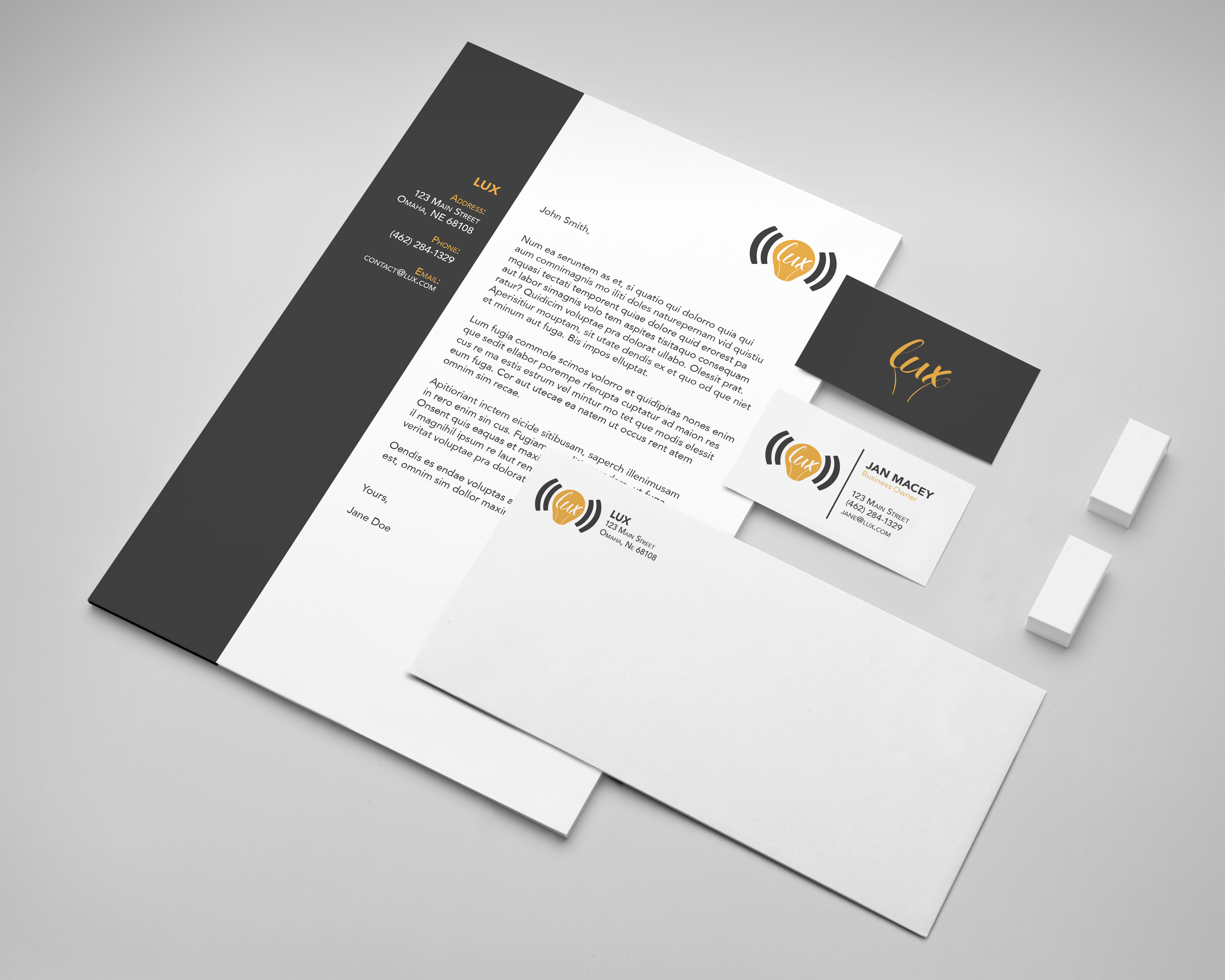 Lux Stationery
