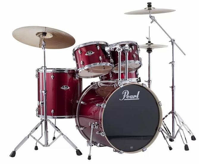 Pearl Export EXX 5-Piece Drum Set With Cymbals & Hardware