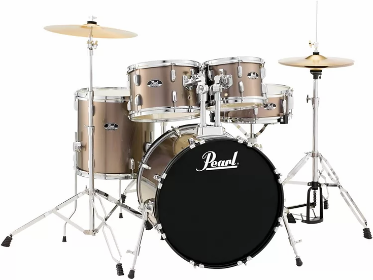Pearl Roadshow 5-Piece Complete Drum Set with Cymbals