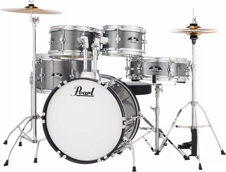 Pearl Roadshow Jr. 5-piece Complete Drum Set with Cymbals