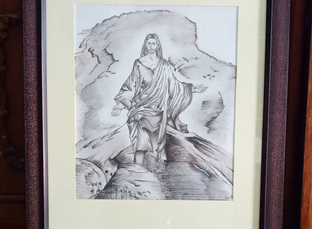 Sketch of'Resurrection of Jesus of Nazareth'