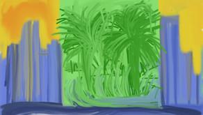 Modern City - A Digital Painting