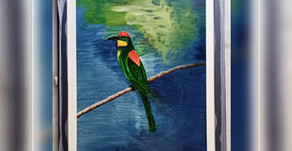 The Painting of the 'Magical Bird'