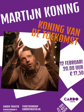 Poster Martijn Koning