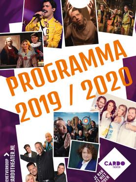 Programmaboekje 2019-2020