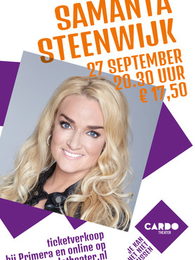 Poster Samantha Steenwijk