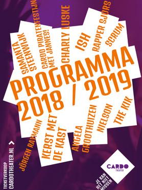 Programmaboekje 2018-2019