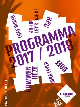 Programmaboekje 2017-2018