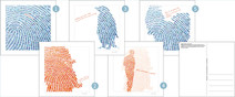 Ansichtkaarten #fingerprints