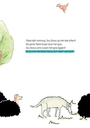 pagina 5 uit tibbe en dorus op ontdekkingsreis