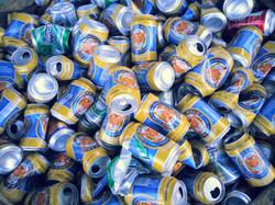 canettes recyclés