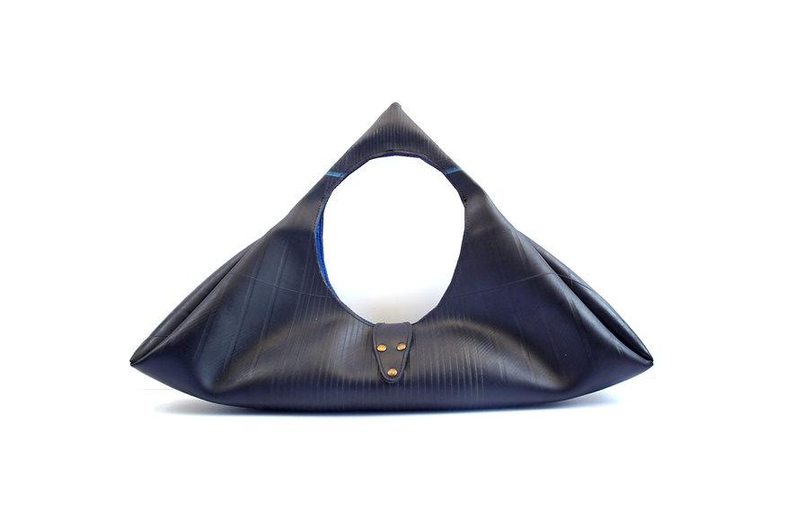 sac géométrique upcyclé