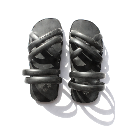 sandales pneu recyclés