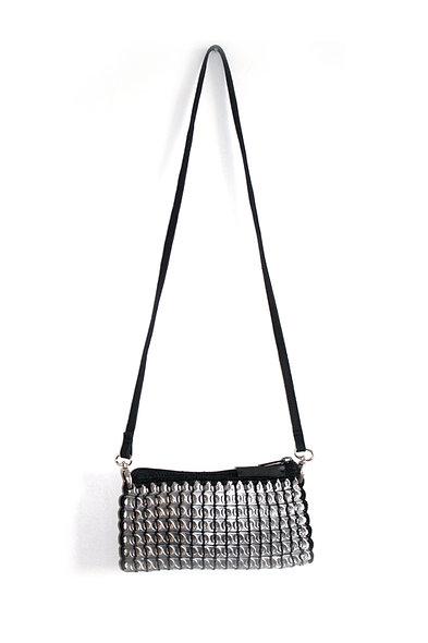 sac bandoulière black noir shoulder bag canette biethic upcycling tendance chic casual 2019