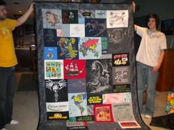 Kegan's T-shirt Quilt
