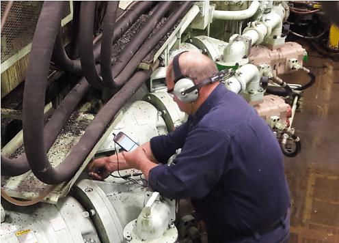 Using CTRL UL101 and InCTRL to assess lubrication status of motor bearing