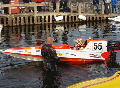 UL101 Used to Find Opportunity to Improve Engine Efficiency in Speedboat