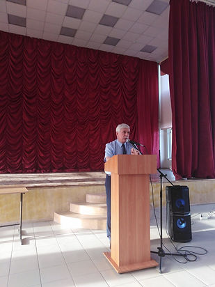 выступление директора на общешкольном собрании родительского комитета