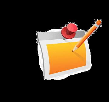png-transparent-icon-orange-memo-pencil-