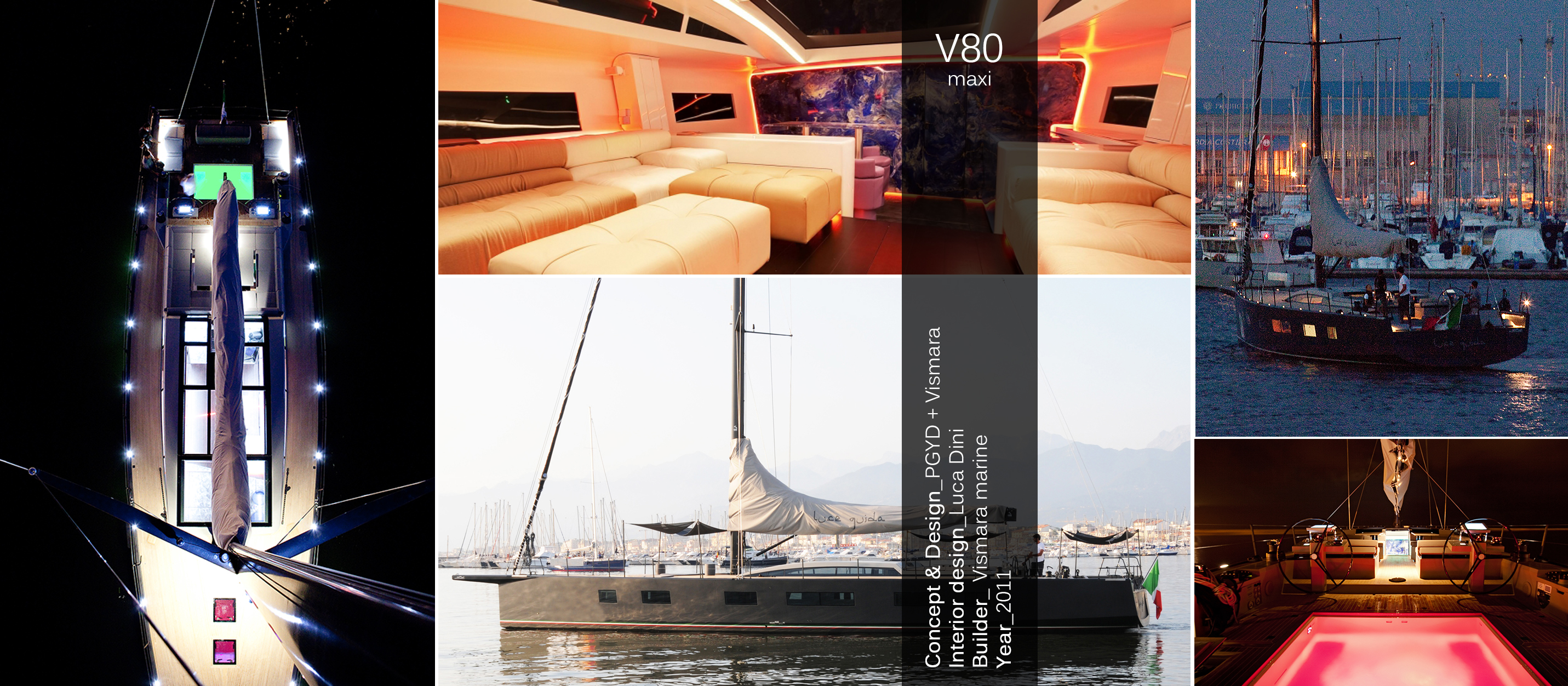 vismara V80 maxi luce guida
