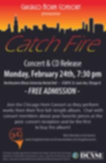 Catch Fire - 11 x 17 Release Poster FINA