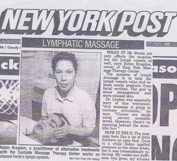 New York Post Robin Ehrlich Eastside Massage