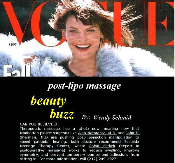 Vogue Top Massages NYC