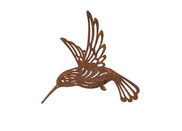Rusty Metal Humming Bird