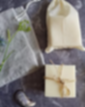 Heaven Scent Soap in Linen Bags.webp