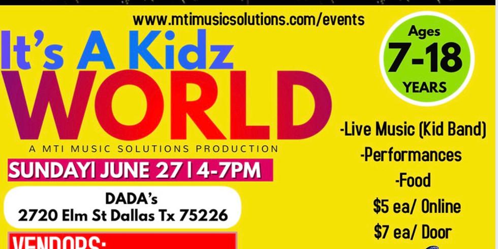 It's a Kidz World: MTI Music Solutions Summer Production