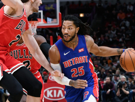 Derrick Rose Done In Detroit. You There Bob, Warriors?