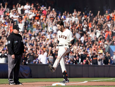 Giants Smash On Buehler, Take Series And First Place