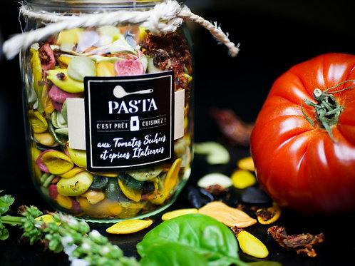 PASTA aux tomates séchées et épices Italiennes