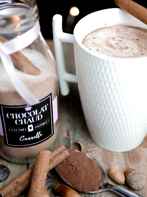 """Chocolat chaud """"CANNELLE"""""""