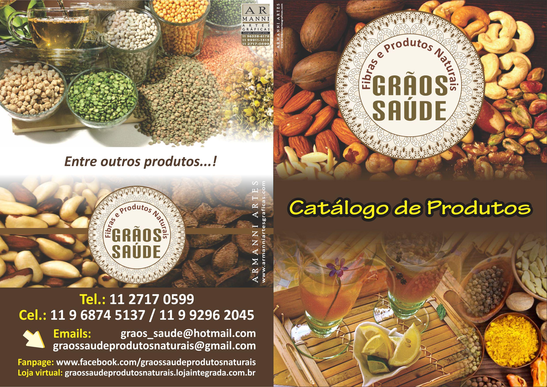 Catálogo,folder,revista de Produtos.