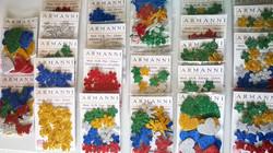 Adesivos - E.V.A | papel com glitter